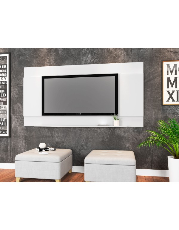 Painel para TV Seattle Branco