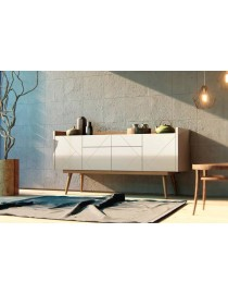 Buffet Veneza Noce Com Off White